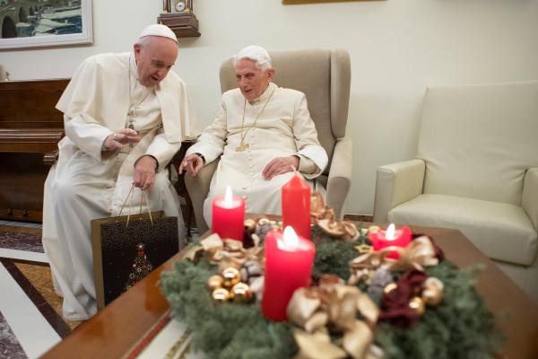 Пост одного фото: С наступающим Рождеством!