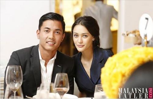 Яркая свадьба дочери Верховного Короля Малайзии 2018-05_Bakar-21yo-Diana-Compton