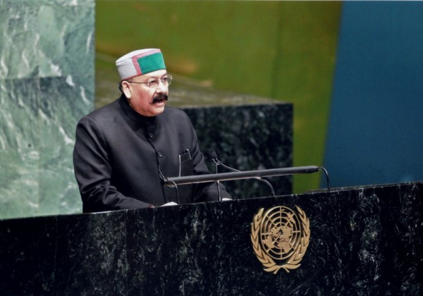 2011, Shri Satpal Maharaj delivered his Speech at 66th UNGA