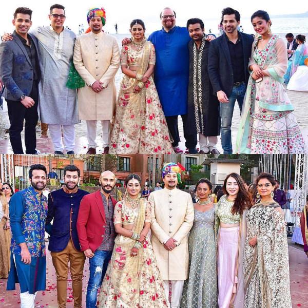 Индийская свадьба: Состоялась помолвка принцессы из королевской семьи Рева engagement-03-TV-people