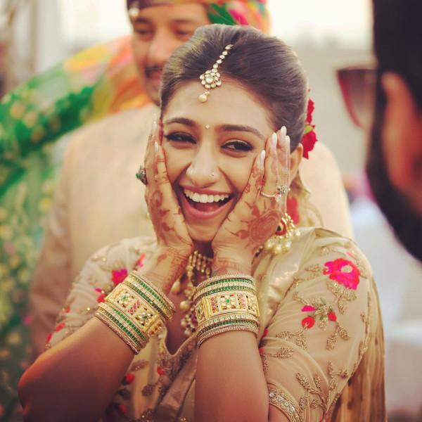 Индийская свадьба: Состоялась помолвка принцессы из королевской семьи Рева engagement-07-bride