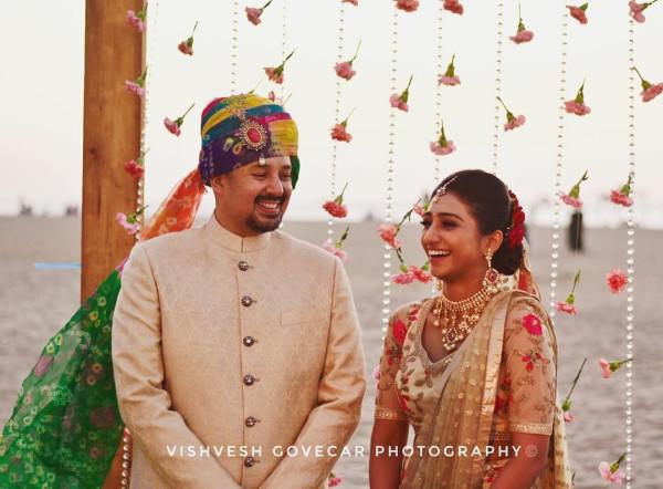 Индийская свадьба: Состоялась помолвка принцессы из королевской семьи Рева engagement-13-eng-couple