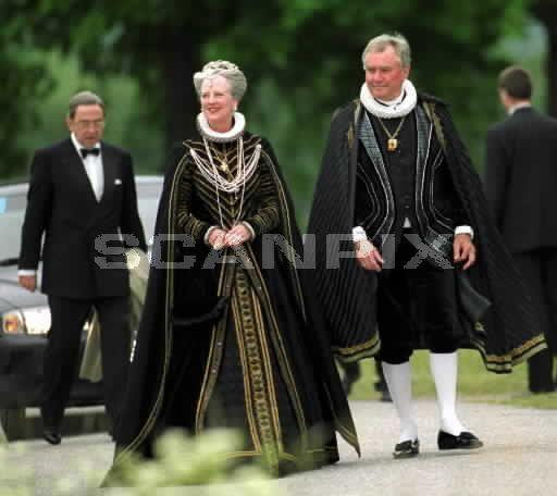 Carl Gustafs 50th birthday masquerade at Gripsholm Castle