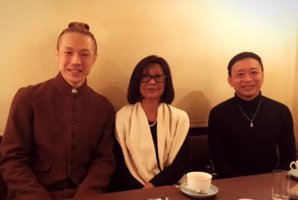 Kaiji Moriyama+Pss Bopha Devi+Pr Tesso of Cambodia