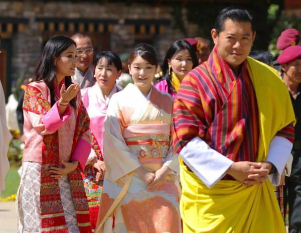 Королевская выставка цветов в Бутане