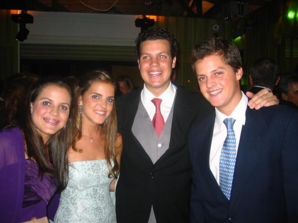 D.Maria Gabriele, D.Amélia, D.Pedro Luiz y D.Rafael