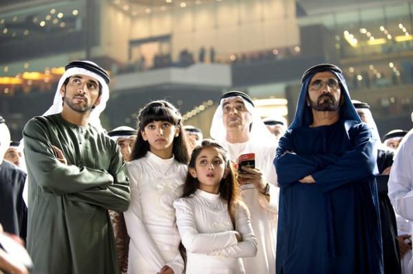2011-03_Fazza3, Salama, Shamma & Sheikh Mohd