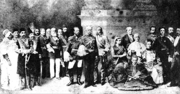 Ретро-фото: Суверены мира, 1899 год
