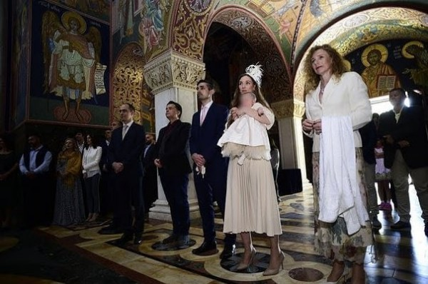 Princess Natalia Karađorđević's christ-6