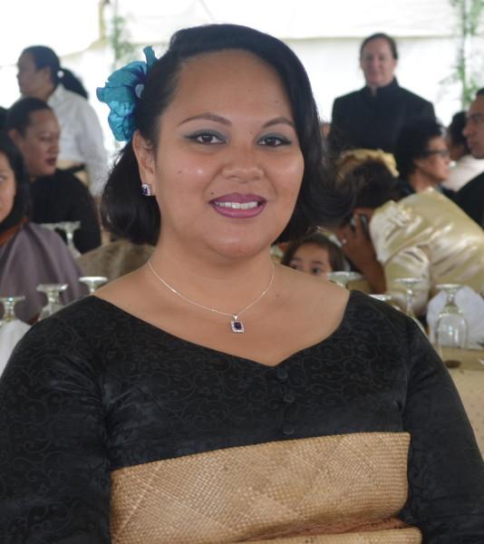 HRH Princess Angelika Tuku'aho