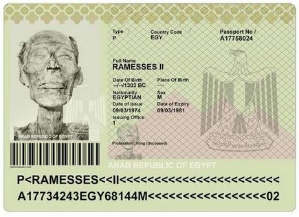 Рамзес-II-загранпаспорт