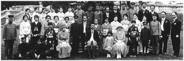 Emperor-Hirohito-and-Miyake-Cadet-Royal-Families