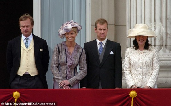 2005_Lord Ivar+Lady Penny (right)+George, the Marquess of MH+Clare (left)