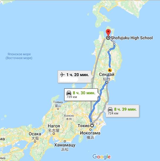Aomori Pref ShofuJuku High School-00-map