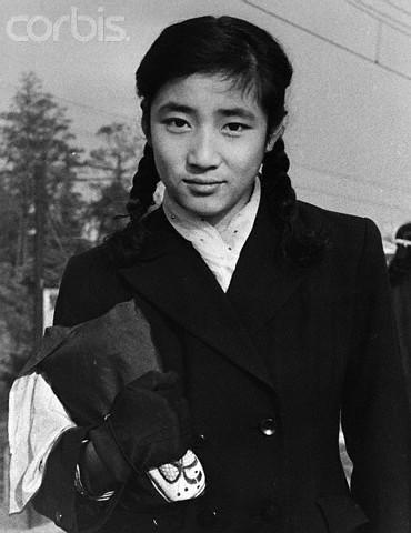 1955_Portrait of Hatsuko Kitashirakawa (16yo)