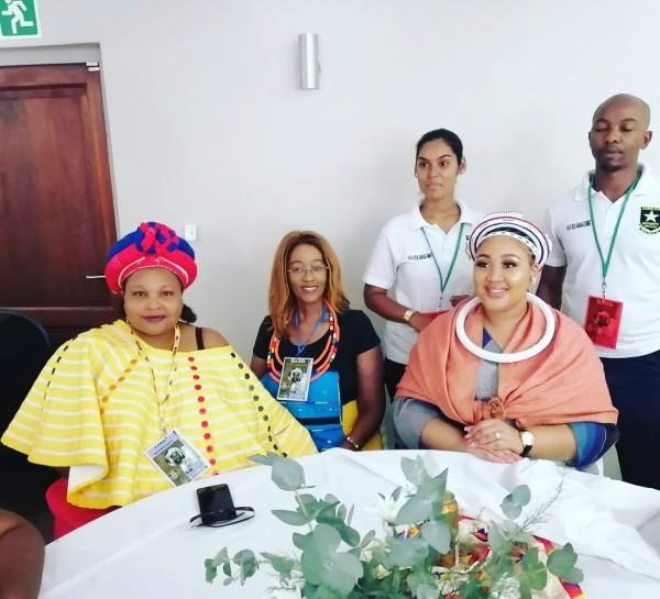 Dr Avela Mayekiso+Queen Sekhothali Mabhena