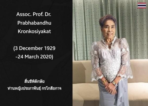 1929-2020_Pss Prabhabandhu Kornkosiyakat