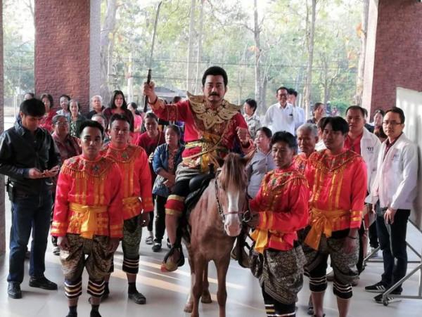 Thai warrior costume