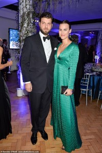 Prince Casimir Sayn-Wittgenstein-Sayn and wife Alana Bunte,2015