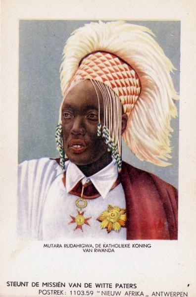 Mutara Rudahigwa, the Catholic King of Rwanda