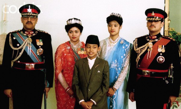 1990_The Nepalese royal family