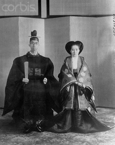 1941_Wedding photo of Prince Mikasa and Princess Yuriko