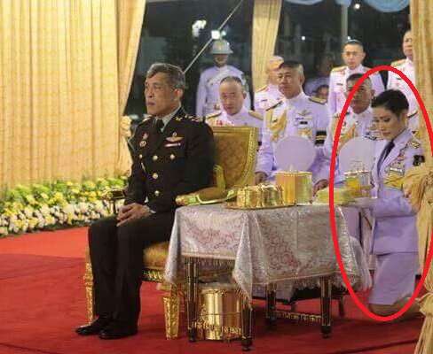 Col. Sineenat Wongvajirapakdi(a nurse)_reportedly becoming his #1