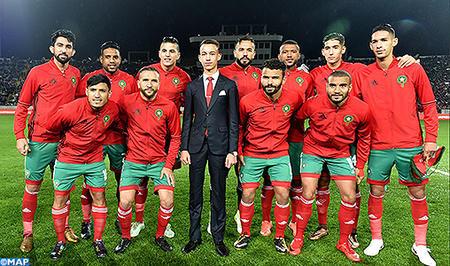 Наследный принц Марокко на первенстве по футболу