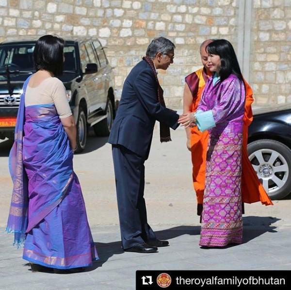 2018-06-11_Ashi Dorji Wangmo Wangchuck_India-Bhutan friendship event