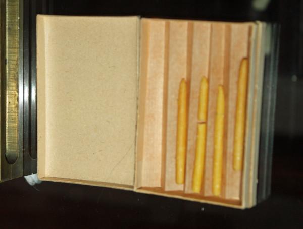 Антисептические свечи, начало 20 века