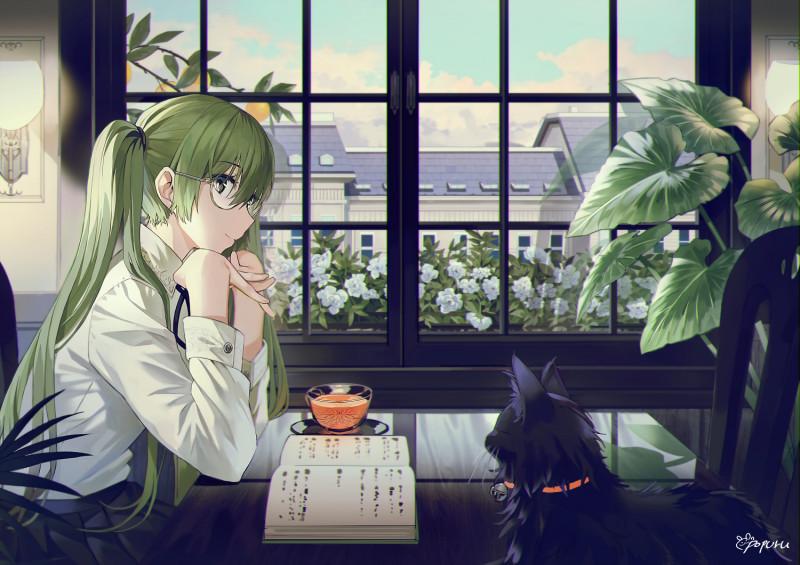 __hatsune_miku_vocaloid_drawn_by_popuru__1761ac634582e7c1ca5cf0b21e1e7007