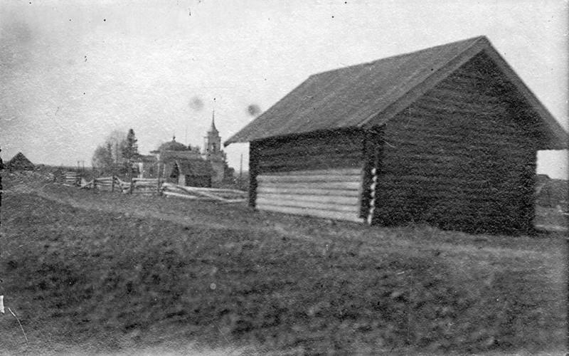 Амбар в селе Алмаз, в котором держали пленных коммунаров