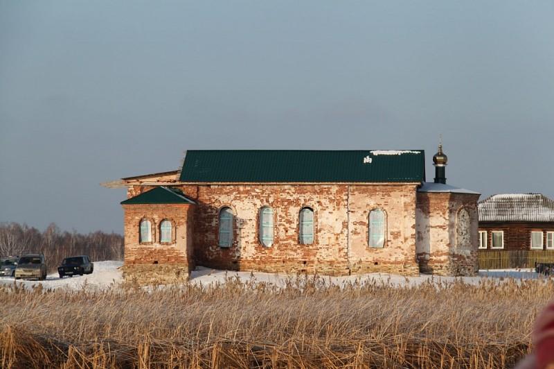 Церковь в селе Урукуль.24.01.2018
