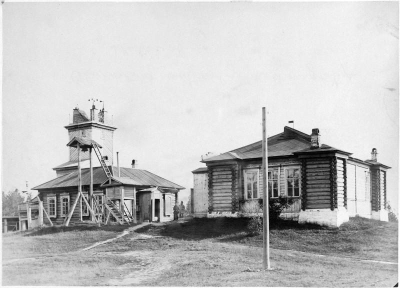 Магнитно-метеорологическая обсерватория. Екатеринбург.1890.Юлий Шокальский