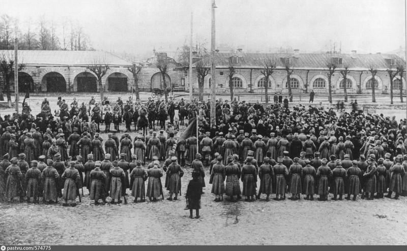 Красная казачья сотня.Пермь.10 ноября 1918 года