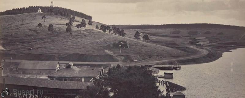 Сысерть. Бесенова гора. 1896г. автор Соломирский