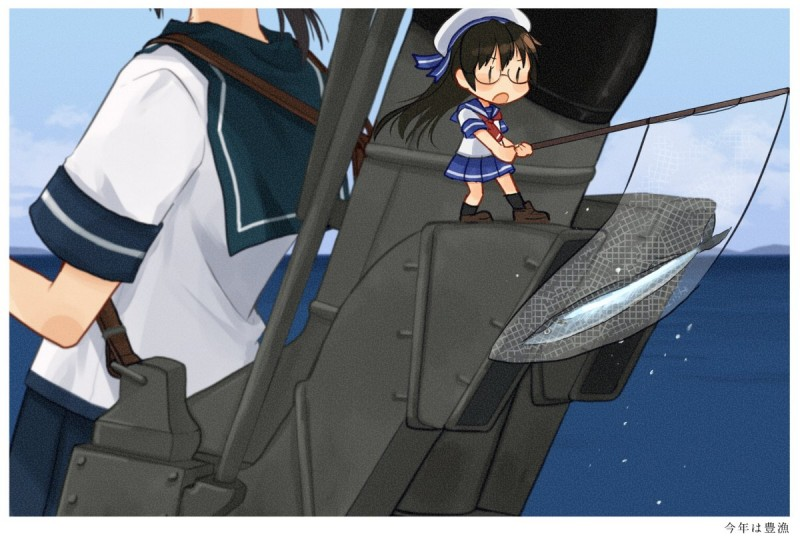__fairy_fubuki_and_skilled_lookouts_kantai_collection_drawn_by_annin_musou__9b30e4e4ae5b94d6823f812cff421a60