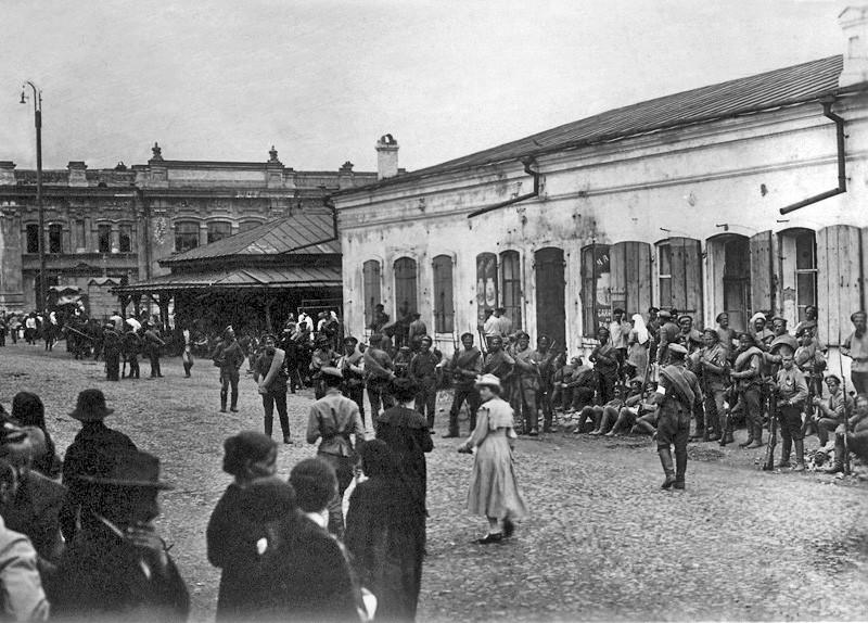 Омск. Осень 1918
