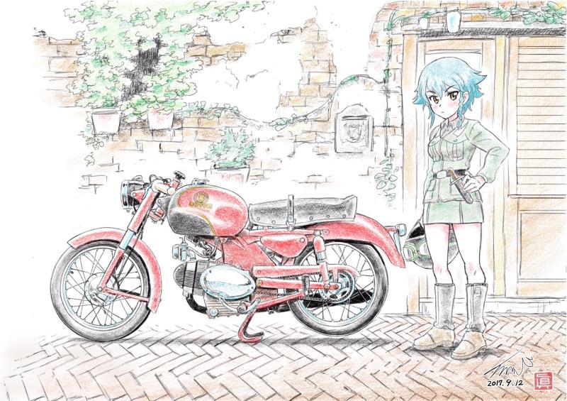 __pepperoni_girls_und_panzer_drawn_by_kubota_shinji__73be48b294bf4854615141f353c3cd79