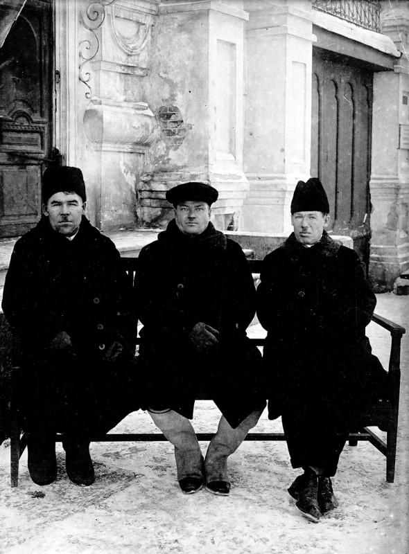 Соловьёв, Захаров, Давыдов. Командиры 23-го полка