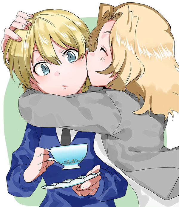 __darjeeling_and_kay_girls_und_panzer_drawn_by_oono_imo__9ccfa9352eb8a9572a2a26bf0928c3ca