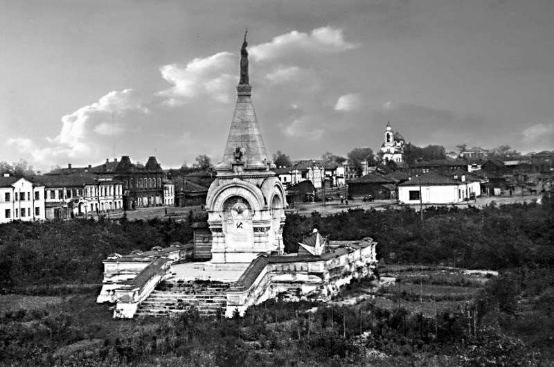 Нижний Тагил. Площадь Свободы. 1920 г.