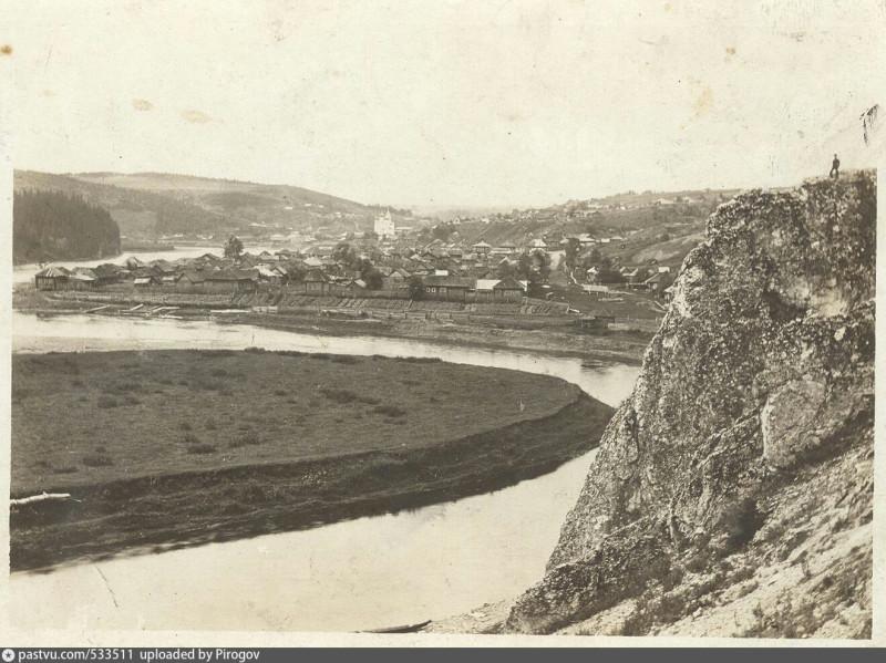 Вид на Кыновской завод