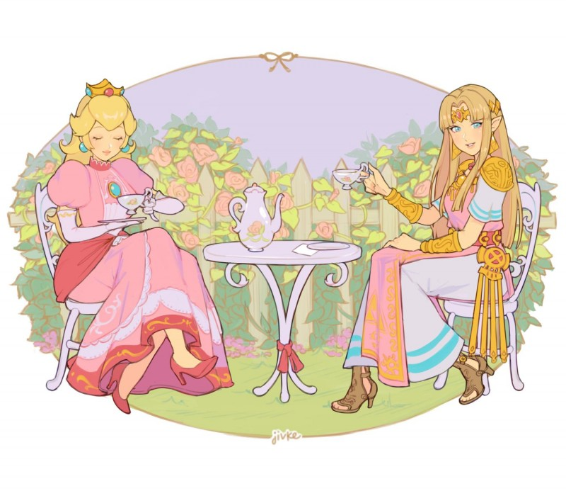 __princess_peach_and_princess_zelda_the_legend_of_zelda_a_link_between_worlds_and_etc_drawn_by_jivke__9a4b9d3a1117b5bb8f43596d36690c3c