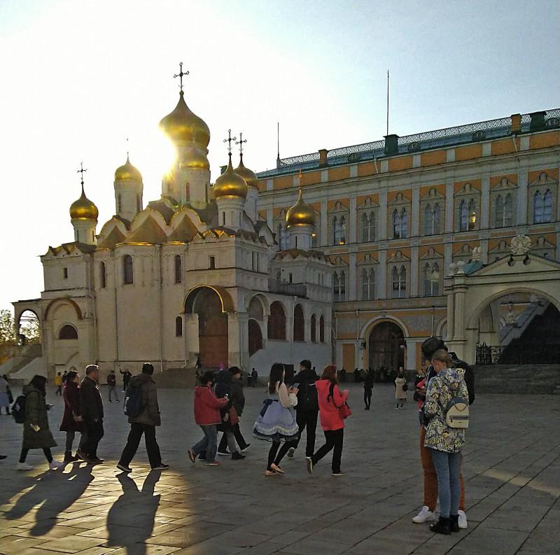 Японка в Кремле