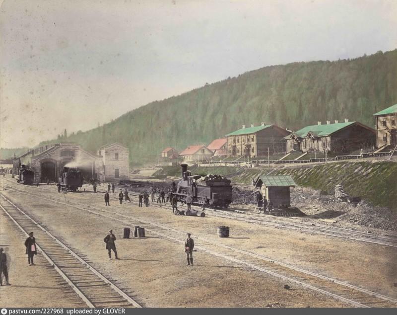 Депо станции Чусовская