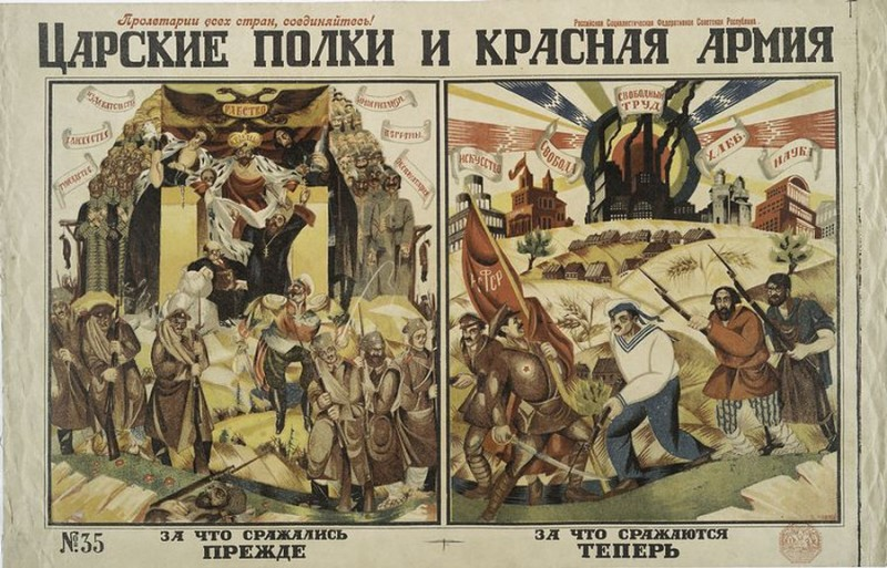 Царские полки и Красная Армия