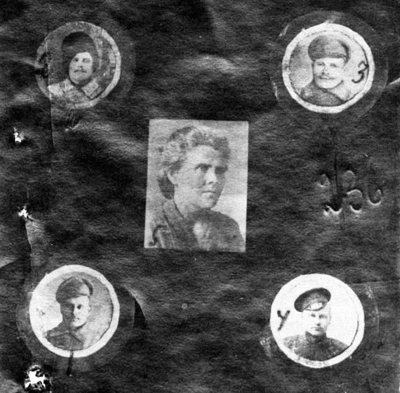 Е.Дружинина и её товарищи