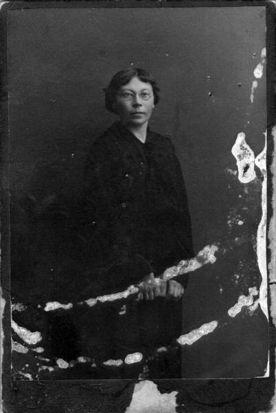 Вера Шляпина.1915