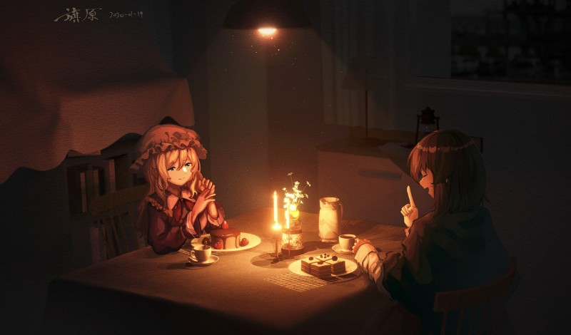 __usami_renko_and_maribel_hearn_touhou_drawn_by_furahata_gen__8088912c6ba728909b13cac930e2b722